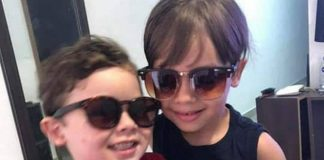 Irmãos Enzo e Arthur, de 6 e 4 anos, eles são do município de Cacimba de Dentro (Foto: Reprodução)