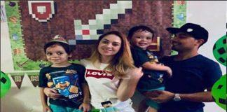 Ana Carla Batista, de 30 anos, e Jefferson Trajano, de 28, morreram com os filhos Enzo, de 6, e Arthur, de 4 (Foto: Reprodução)