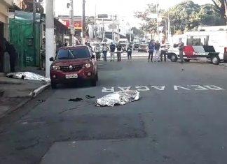 Jovem e seus pais foram mortos ao visitar família da namorada em SP (Foto: Reprodução/ TV Globo)