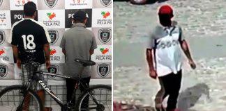 Polícia prendeu suspeito de furto e homem que comprou a bicicleta (Foto: Assessoria 4º BPM)